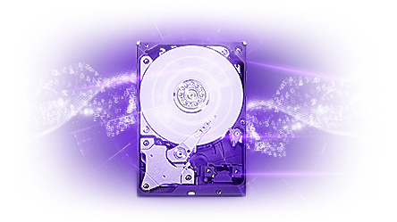 Western Digital 4TB 3.5 SATA 6Gb/s Purple SV HDD 1