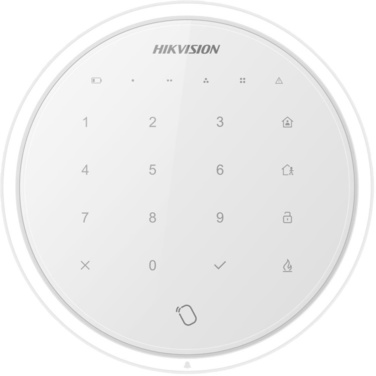 Hikvision DS-PKA-WLM Wireless Touchscreen Keypad to suit Axiom Hub