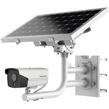 Hikvision DS-2XS6A25G0-I Solar Powered 4G 2MP Bullet Camera, 20aH Lithium Battery Included