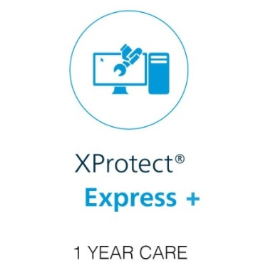 Milestone xProtect One Year Care Plus Subscription For Express+ Device License