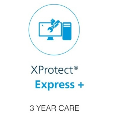 Milestone xProtect Three Year Care Plus Subscription For Express+ Device License