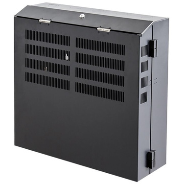 X2 4RU Vertical Mount Lockable Cabinet with 2RU Horizontal - 600w x 600h x 230d