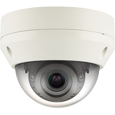 Hanwha Wisenet Q Series QNV-7080R 4MP Outdoor Vandal Dome With IR & Vari Focal Lens