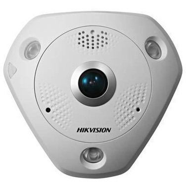 HIKVISION DS-2CD63C2F-IVS 12MP Outdoor Fisheye 360 Camera With Audio Input