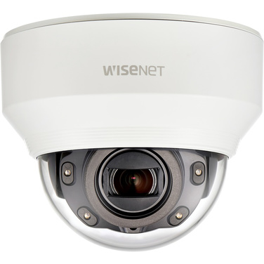 Hanwha Wisenet X Series XND-6080R 2MP Internal Dome Camera With IR & Vari Focal Lens