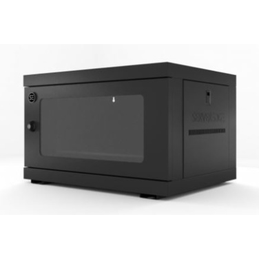 Serveredge CBN-6RU-64WM 6RU Wallmount Rack Enclosure - Fully Assembled