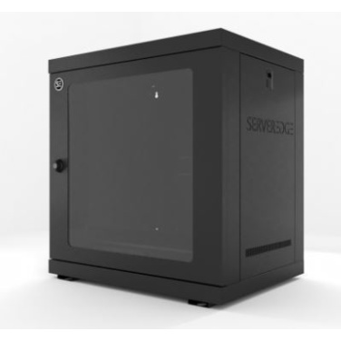 Serveredge CBN-12RU-64WM 12RU Wallmount Rack Enclosure - Fully Assembled