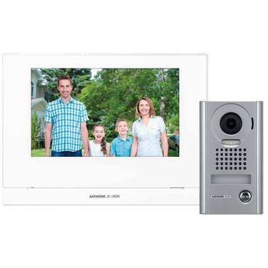 Aiphone JO 7 Video Intercom Kit, WiFi, Vandal Door Station, Surface Mount