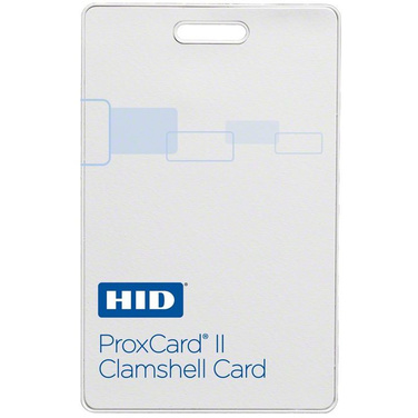 Proxcard II 125Khz Proximity Card Clamshell - Blank